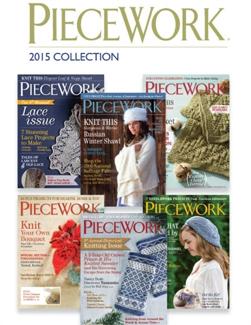 PieceWork Magazine 2015 Collection CD 6 Issues