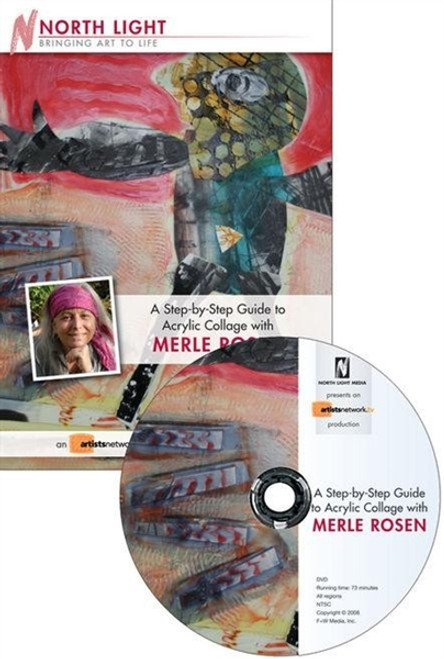 Step-By-Step Guide To Acrylic Collage With Merle Rosen DVD