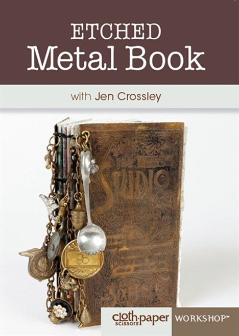 Etched Metal Book with Jen Crossley DVD