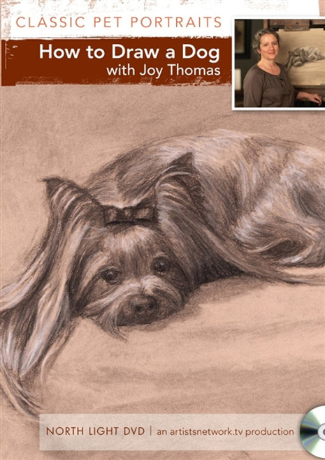 How to Draw a Dog with Joy Thomas DVD