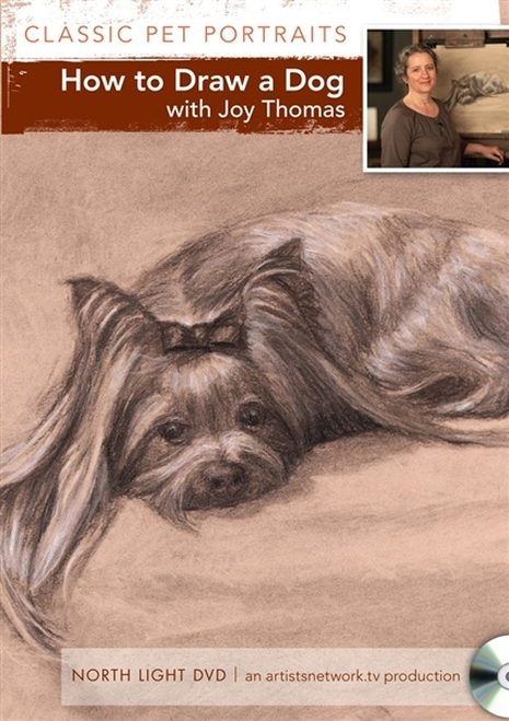 How to Draw a Dog with Joy Thomas DVD