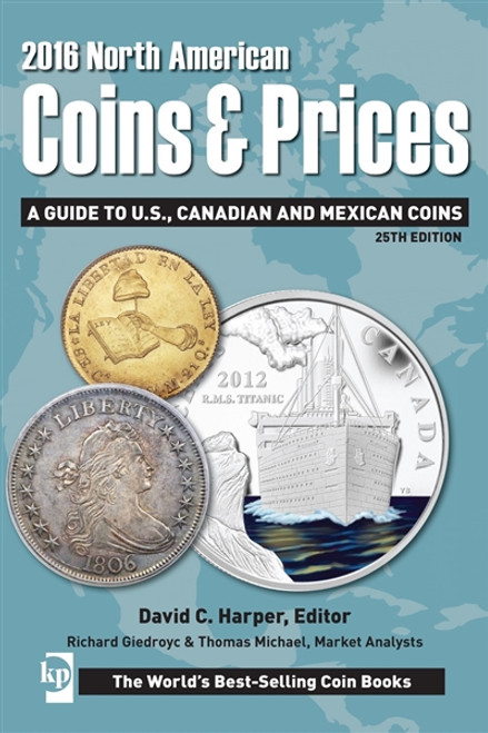 2016 North American Coins & Prices By David C. Harper CD