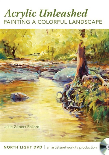 Painting a Colorful Landscape with Julie Gilbert Pollard DVD