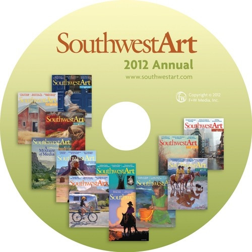 Southwest Art Magazine 2012 Annual CD 12 Issues