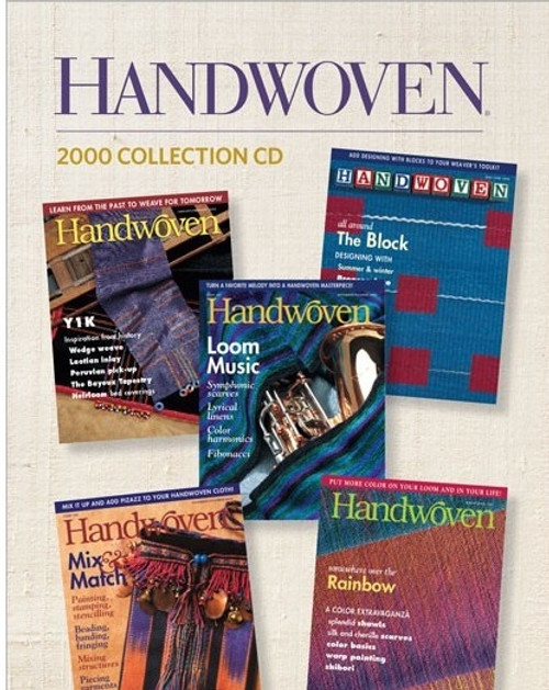 Handwoven Magazine 2000 Collection CD 5 Issues