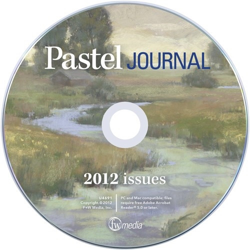 The Pastel Journal Magazine 2012 Annual CD