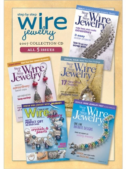 Step by Step Wire Jewelry 2007 Collection CD 5 Issues