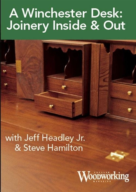 A Winchester Desk with Jeff Headley & Steve Hamilton DVD