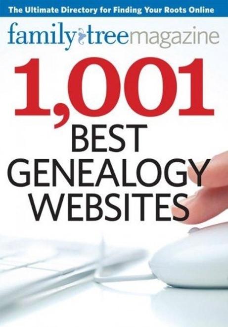1,001 Best Genealogy Websites Family Tree Magazine CD