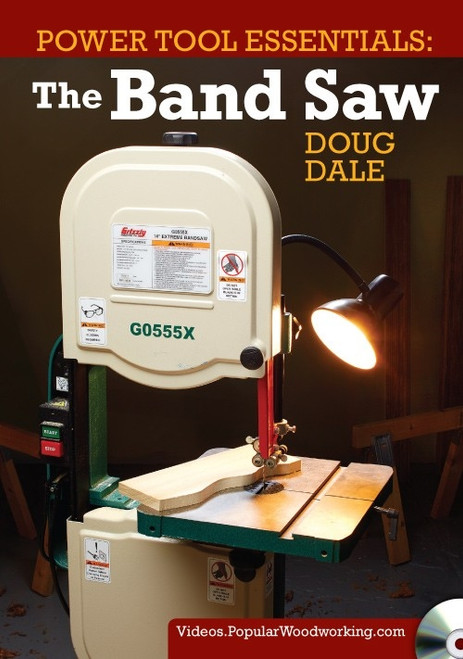Power Tool Essentials - The Band Saw with Doug Dale DVD