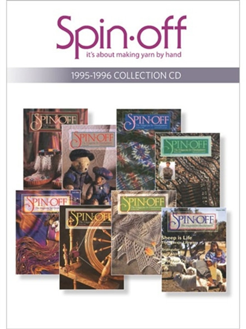 Spin-off Magazine 1995-1996 Collection CD 8 Issues