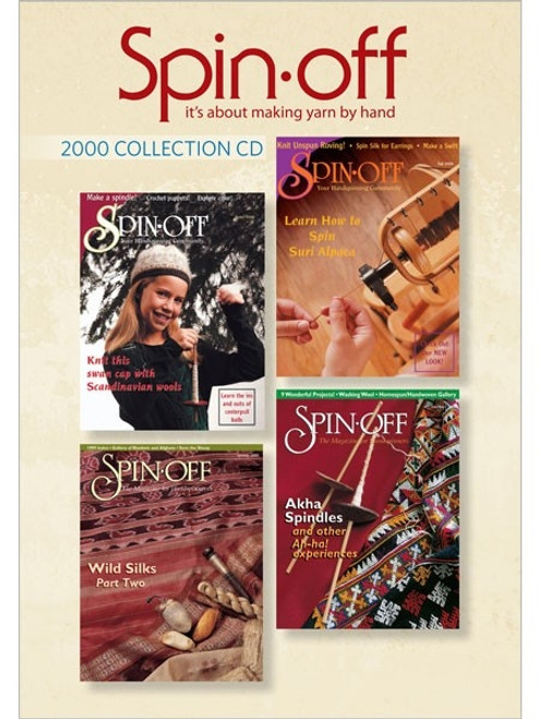 Spin-off  Magazine 2000 Collection CD 4 Issues