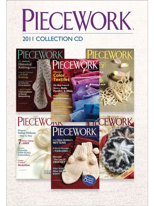 PieceWork Magazine 2011 Collection CD 6 Issues