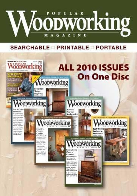 Popular Woodworking Magazine 2010 Annual CD 7 Issues