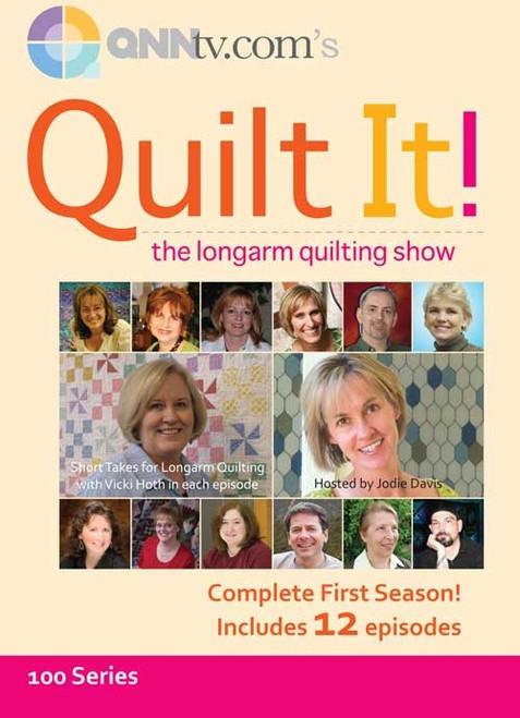 Quilt It! Series 100 with Jodie Davis DVD 12 Episodes