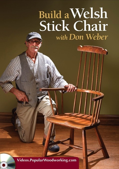 Build a Welsh Stick Chair with Don Weber DVD