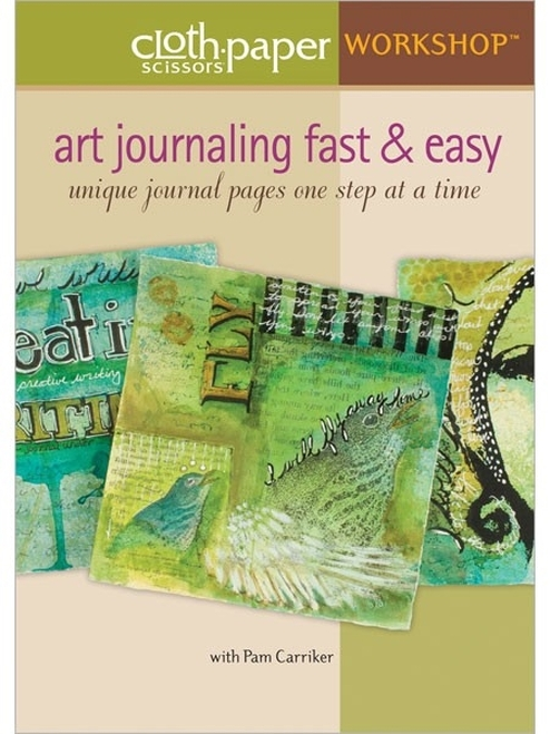 Art Journaling Fast & Easy with Pam Carriker DVD
