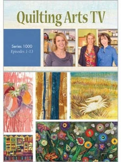 Quilting Arts TV Series 1000 with Pokey Bolton DVD