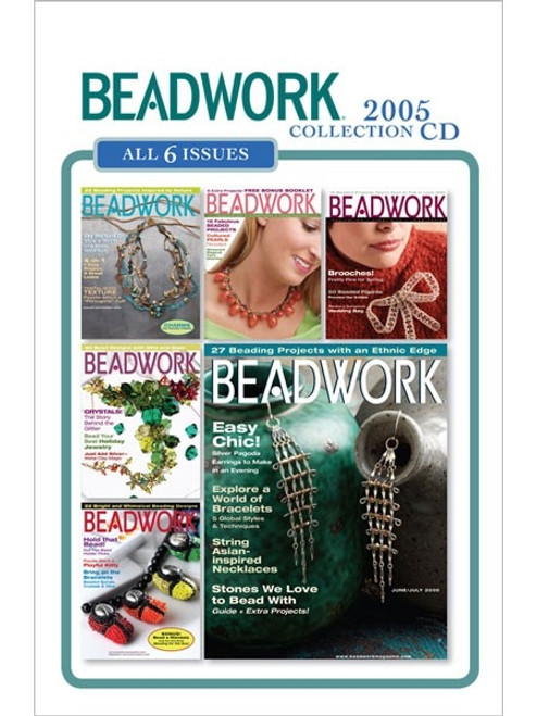 Beadwork Magazine 2005 Collection CD 6 Issues