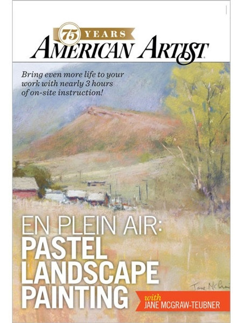En Plein Air Pastel Landscape Painting with Jane McGraw-Teubner DVD