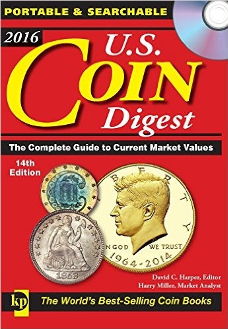 2016 U.S. Coin Digest 14th Edition by David Harper CD