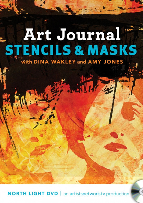 Art Journal Stencils and Masks with Dina Wakley and Amy Jones DVD