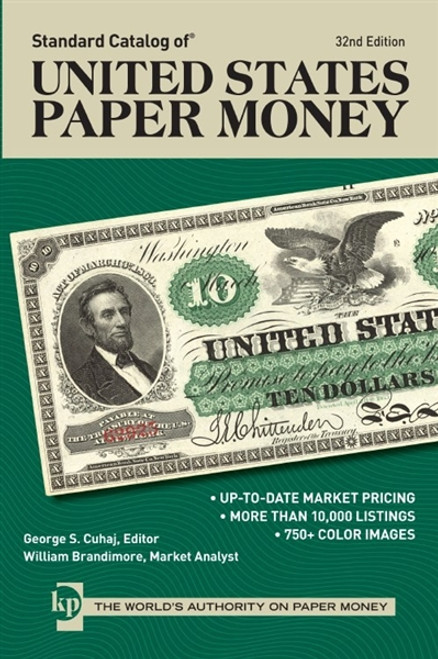 Standard Catalog of United States Paper Money CD 32nd Edition