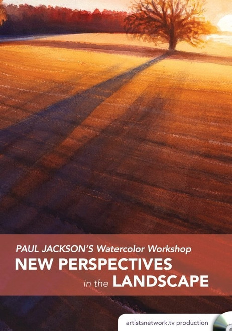 Paul Jackson's Watercolor Workshop - New Perspectives in the Landscape DVD