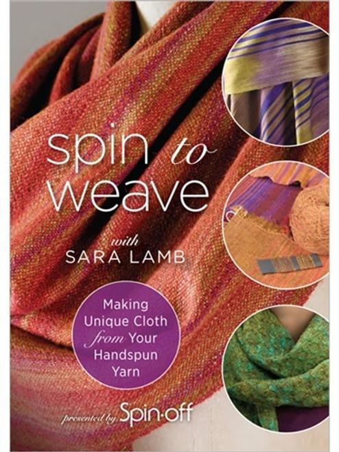Spin to Weave by Sara Lamb 2-DVD Set