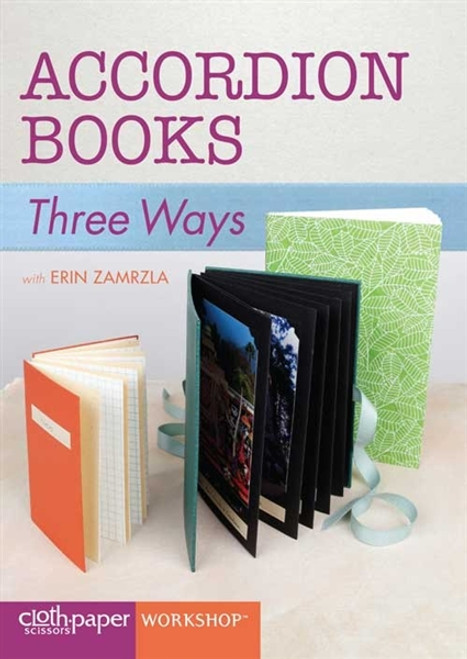 Accordion Books Three Ways with Erin Zamrzla DVD