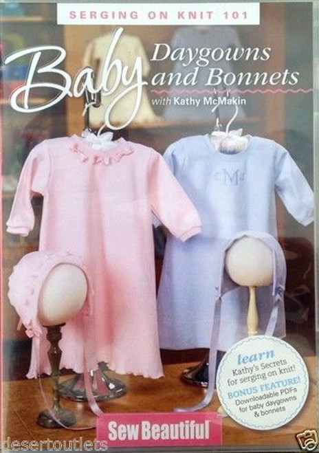 Baby Daygowns and Bonnets with Kathy McMakin DVD