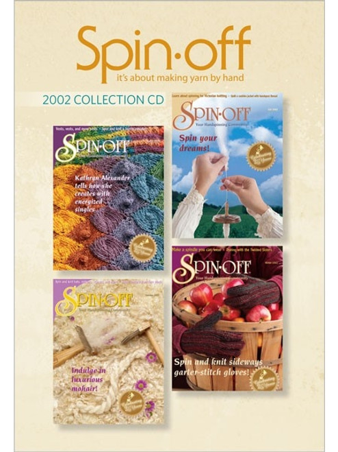 Spin-off Magazine 2002 Collection CD 4 Issues