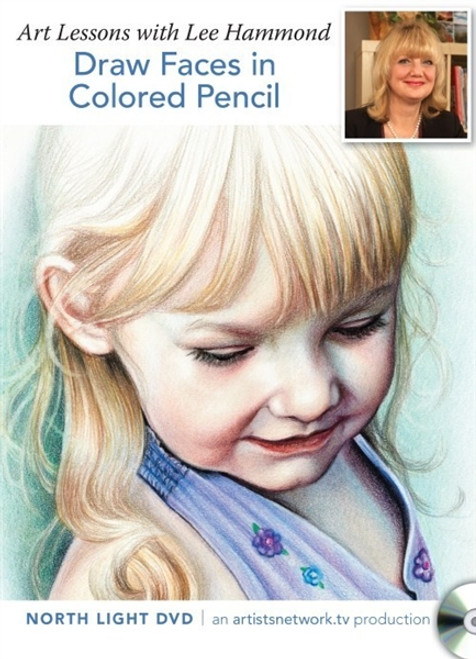 Draw Faces in Colored Pencil  with Lee Hammond DVD