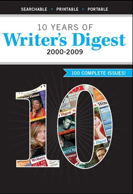 10 Years of Writer's Digest Magazine 2000-2009 CD