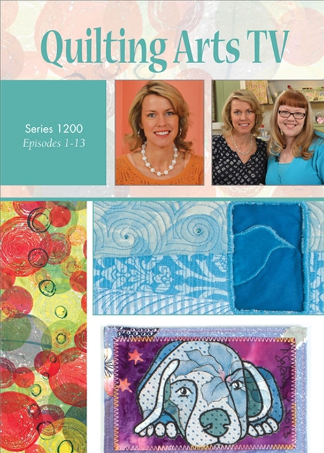 Quilting Arts TV Series 1200 with Patricia Pokey Bolton DVD