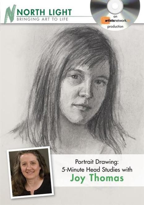 Portrait Drawing - 5-Minute Head Studies with Joy Thomas DVD