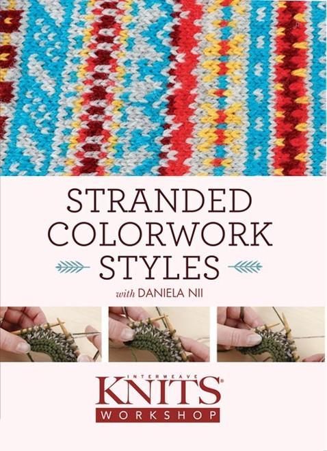Stranded Colorwork Styles with Daniela Nii DVD