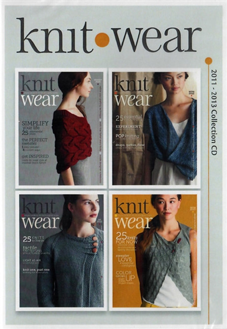 Knit.Wear Magazine 2011-2013 Collection CD 4 Issues