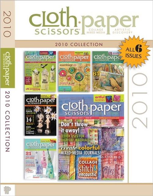 Cloth-Paper Scissors Magazine 2010 Collection CD 6 Issues