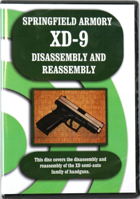 Springfield Armory XD Disassembly and Reassembly with Larry Shields DVD