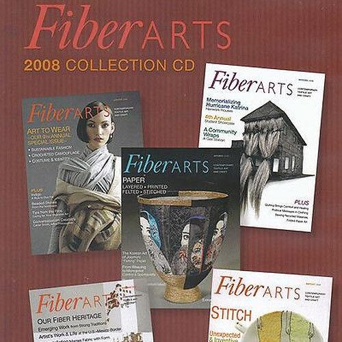 FiberARTS Magazine 2008 Collection CD 5 Issues