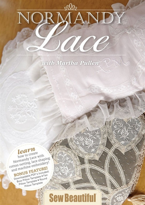Normandy Lace with Martha Pullen DVD
