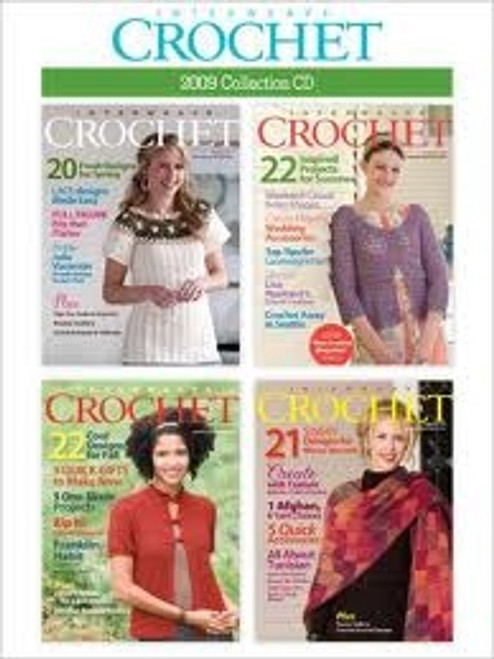 Interweave Crochet Magazine 2009 Collection CD 4 Issues