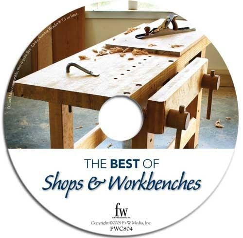 The Best of Shops & Workbenches By Popular Woodworking CD