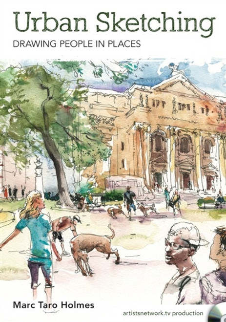 Urban Sketching - Drawing People in Places with Marc Taro Holmes DVD