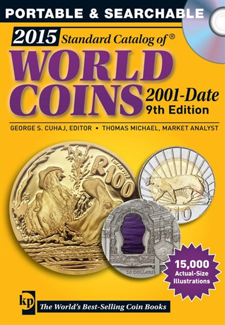 2015 Standard Catalog of World Coins 2001-Date CD