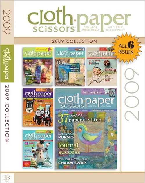 Cloth-Paper Scissors Magazine 2009 Collection CD 6 Issues