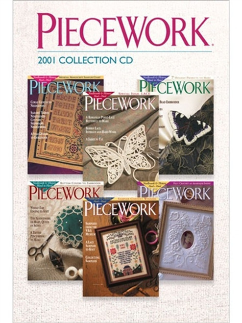 PieceWork Magazine 2001 Collection CD 6 Issues