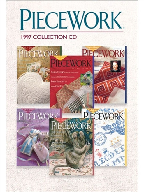 PieceWork Magazine 1997 Collection CD 6 Issues