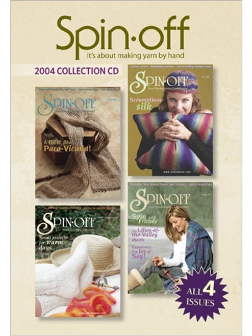 Spin-off Magazine 2004 Collection CD 4 Issues